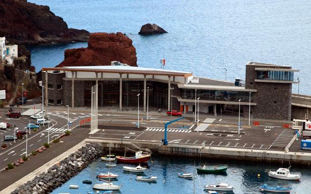 Puerto de La Estaca, en El Hierro