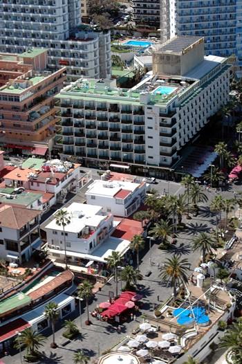 El espacio para los comercios ocupa el centro de la ciudad. | MOISÉS PÉREZ