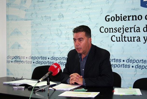 Ramon Miranda director general de Deportes del Gobierno de Canarias