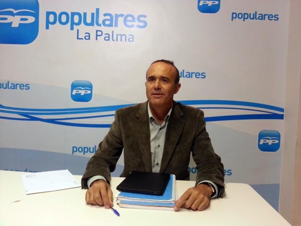 Raúl Camacho PP Cabildo de La Palma