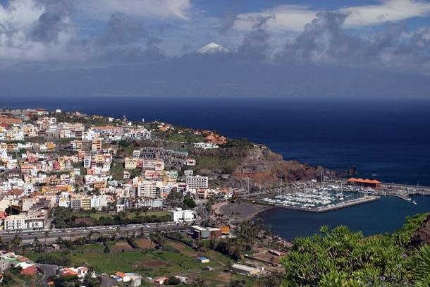 Vista parcial San Sebastián de La Gomera