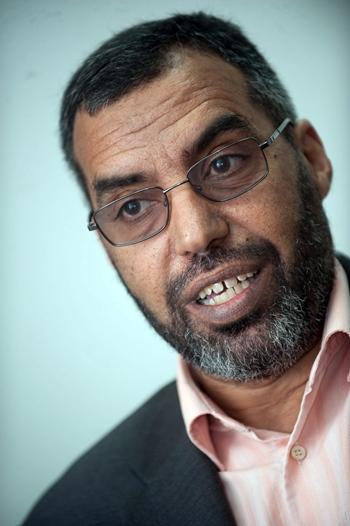 El delegado del Frente Polisario en España Bucharaya Beyun FP