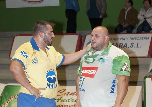 Aday Barbuzano y José Alonso, dos puntales que participan en la Liga de Tenerife