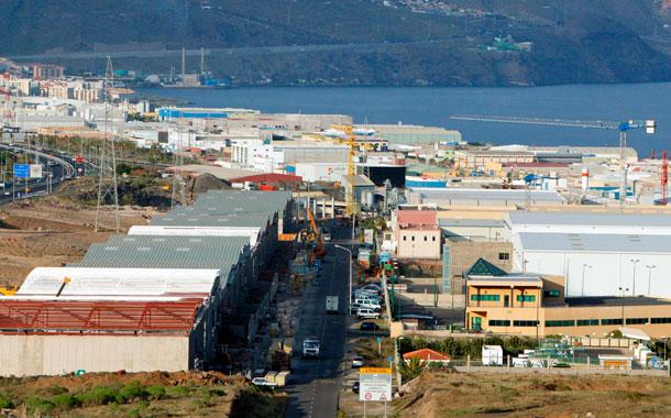 Polígono industrial Tenerife