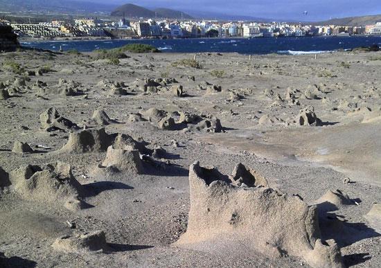 Las sismitas están ubicadas en la Reserva Natural de Montaña Roja. / DA
