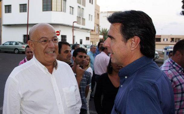 Antonio Hormiga y José Manuel Soria