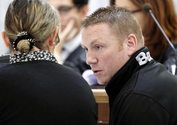 El ciudadano británico, Christopher C., de 38 años, acusado de asesinar a su novia cuando estaban de vacaciones en Mogán. | EFE