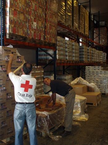 Cruz Roja cuenta con siete entidades colaboradoras en la capital. / DA
