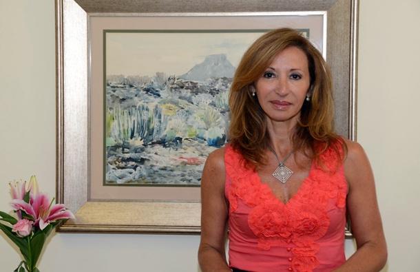 La coordinadora insular del área de Defensa Jurídica y Recursos Humanos, Rosa Baena.   DA