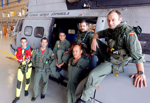 Escuadrón SAR del Mando Aéreo de Canarias