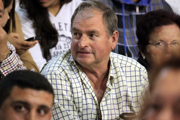 Francisco 'Pancho' Barrera, presidente del Club de Lucha Victoria y propietario del restaurante El Salón. | DA