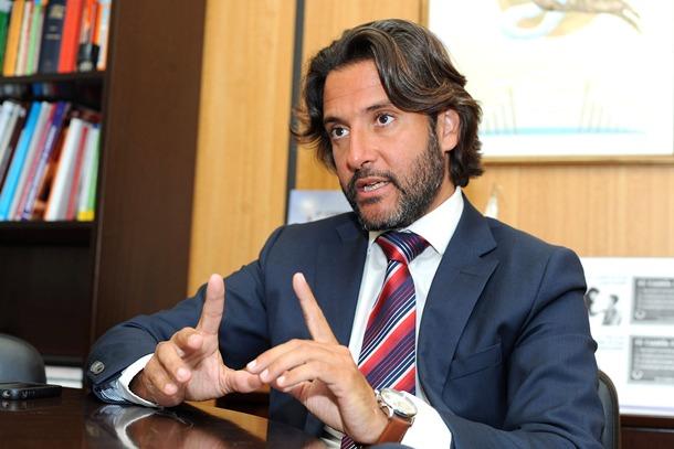 Gustavo Matos, secretario de Política Municipal del PSOE canario. / S. M.