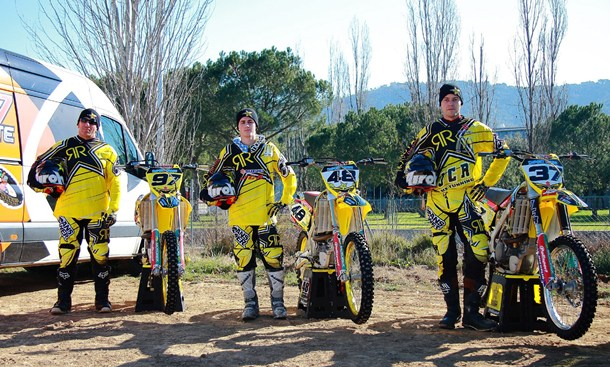 Team Suzuki JCR Rockstar/Importcross. | CEDIDA