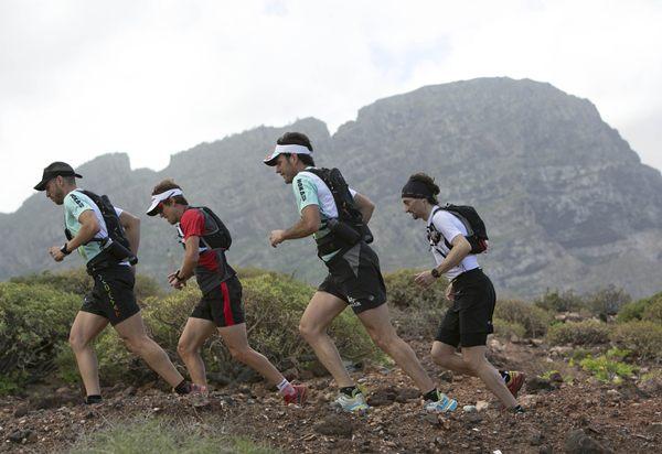 Varios de los corredores que participarán en la prueba.   DA