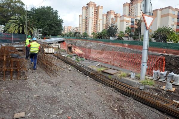 obras en puente de hierro