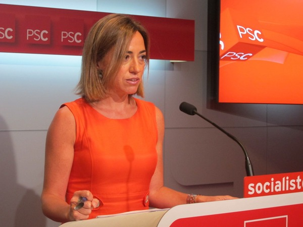 Carme Chacón, diputada del PSOE y exministra de vivienda y defensa del Ejecutivo de Zapatero.   DA