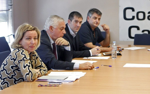 Reunión del Comité Permanente de Coalición Canaria. | EFE