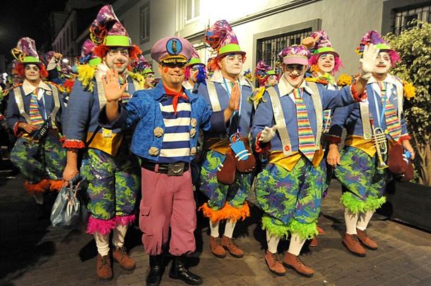 El colectivo actuó anoche en el festival celebrado en La Laguna. / JAVIER GANIVET
