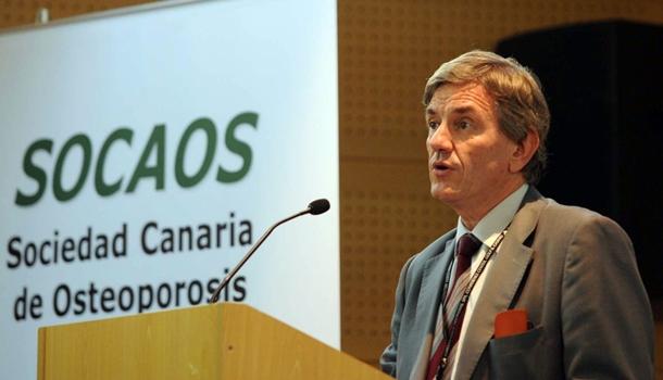 Manuel Sosa es presidente de la Sociedad Canaria de Osteoporosis. | DA
