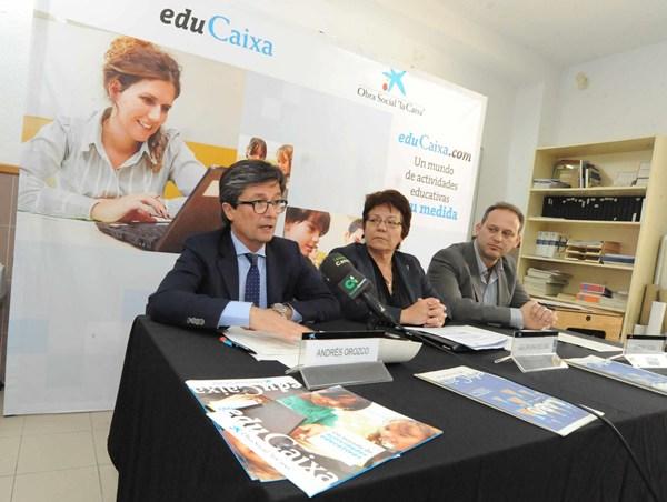 Andrés Orozco (izquierda), Georgina Molina y Antonio Sosa