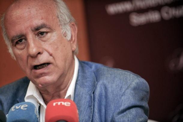 José Luis Langa, abogado y portavoz  de la Plataforma de Afectados por la Ley de Costas en Canarias. | F.P.