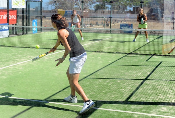 Partido de un torneo femenino. / SERGIO MÉNDEZ