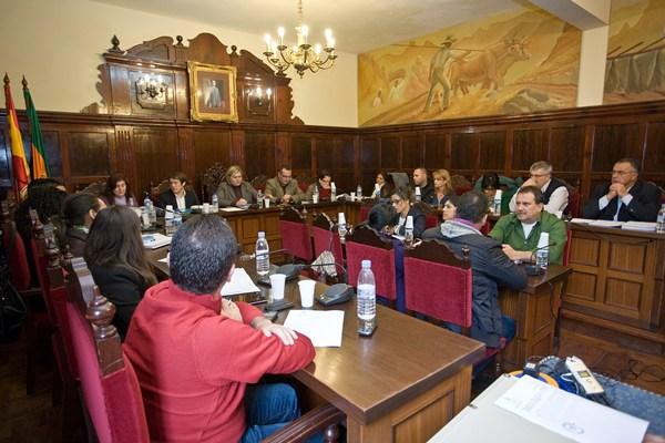 El acuerdo plenario salió adelante con los votos de los partidos que apoyan el gobierno local. | DA