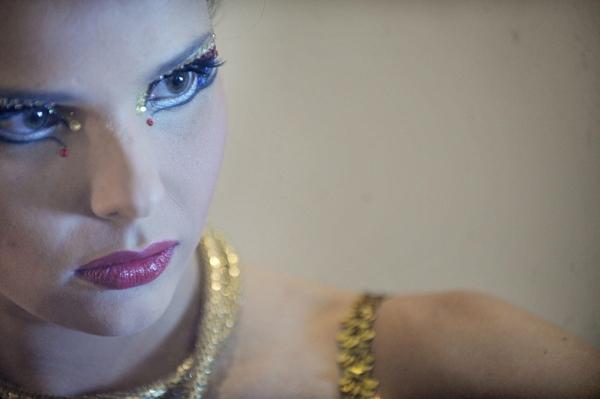 La bella candidata a Reina del Carnaval por el Parque Bulevar y DIARIO DE AVISOS, Saida Prieto. | FRAN PALLERO