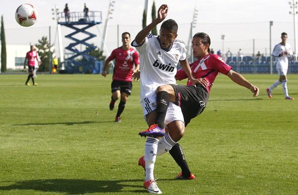 En la primera vuelta ya ganaron los blanquiazules en Madrid por 1-2. | DA