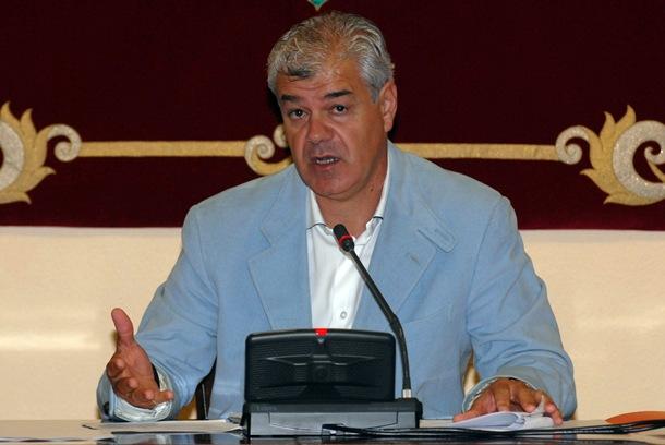 Alpidio Armas, presidente del Cabildo de El Hierro. | DA