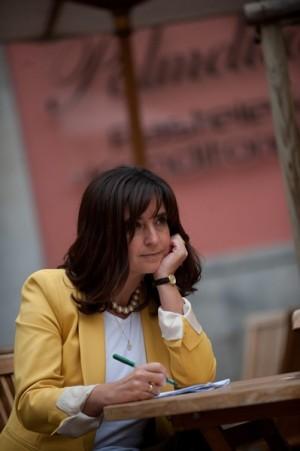 Antonia Molinero en una cafetería de La Laguna. | FRAN PALLERO