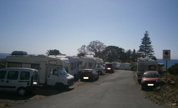 campistas LOS CRISTIANOS El Rincón caravanas autocaravanas