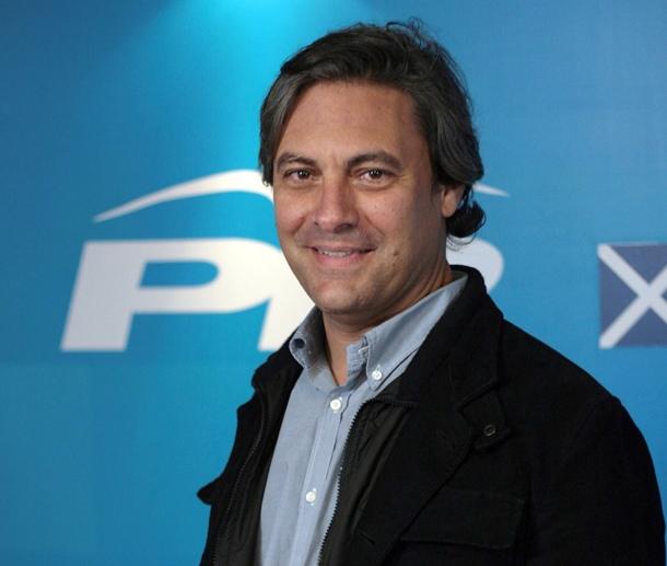 Carlos Garcinuño, concejal santacrucero del PP. | DA