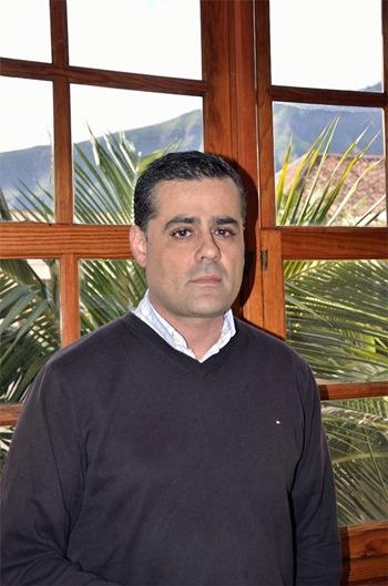 Carlos Romero, concejal de Seguridad de Güímar.   DA
