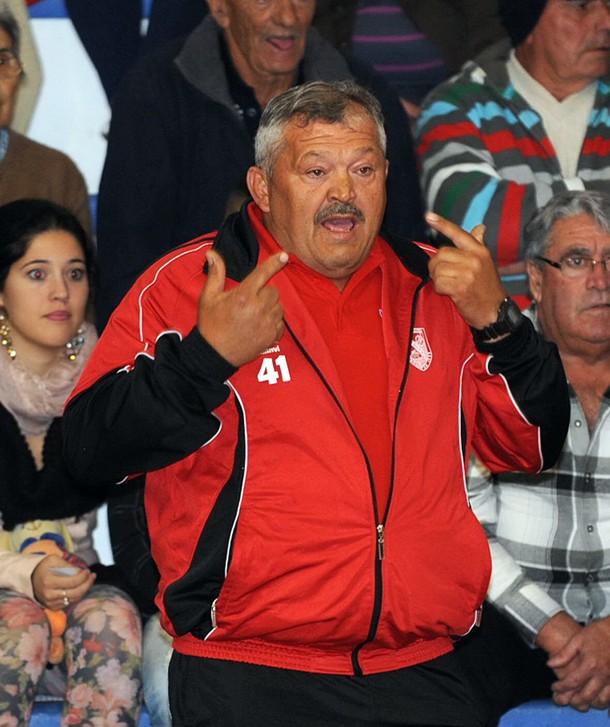 Chevo Ledesma, entrenador del club vallero. / FRAN PALLERO