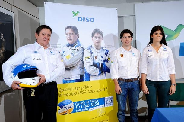 Fernando Capdevila, Enrique Cruz y Emma Falcón, integrantes del DISA Copi Sport. | F.P.