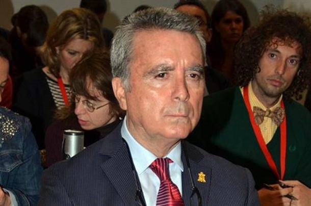 El extorero José Ortega Cano durante el juicio.   E.P.