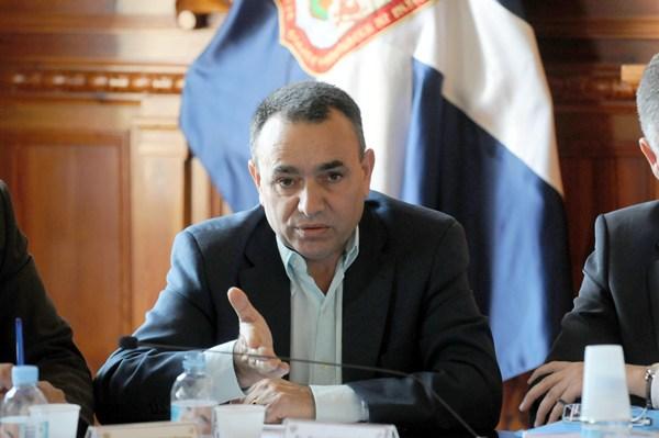Juan Dóniz, concejal de Recursos Humanos y portavoz municipal de CC. / M. P.