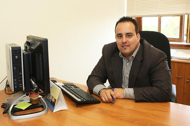 El concejal aronero, Marcos Afonso. / DA