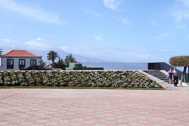 Los trabajos de accesibilidad han renovado la imagen de un emblemático espacio público del municipio. | DA