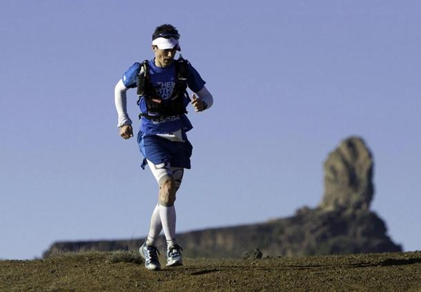 Sebastien Chaigneau se alzó con la victoria de la prueba reina, la Ultra Trail de 119 kilómetros.  DA