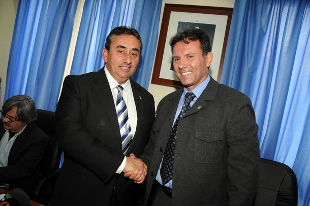 Tomás Mesa y Marco Antonio Abreu