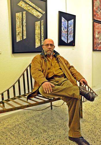 Víctor Camacho es psicólogo de profesión y pintor de vocación. | J.G.