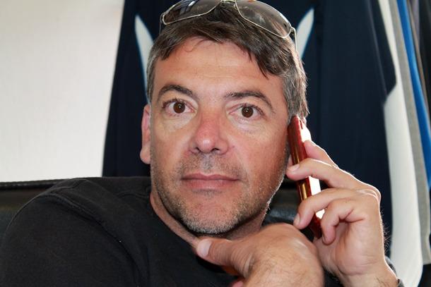 William Nazco, presidente Atletico Paso,  sueña con regresar a la Tercera División. / DA