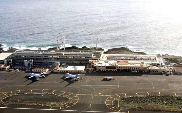 El aeropuerto de Mazo permanece inoperativo por el viento. | DA