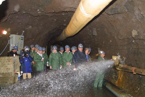 Hernández Zapata critica a su predecesor eln el Gobierno por la gan dependencia al túnel de trasvase.| DA