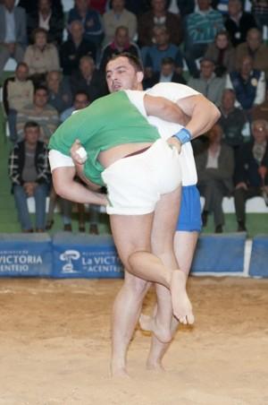 Javi Ledesma es uno de los puntales que animará el Campeonato Absoluto de Puntales.   JAVIER GANIVET