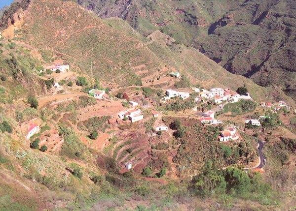 Panorámica de El Batán, caserío del macizo que está adscrito al municipio de La Laguna. / DA