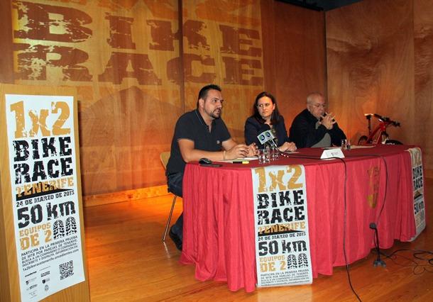 Un momento de la presentación de la prueba ciclista en el Centro Cultural de El Sauzal. | DA