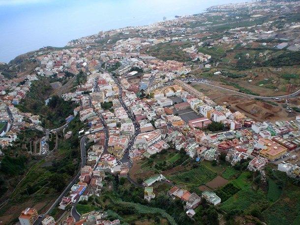 Imagen tomada desde el aire en la que se aprecia parte de la extensión del municipio. / MOISÉS PÉREZ